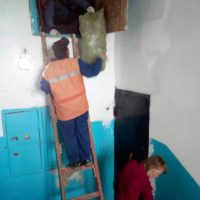 Уборка тех. этажа