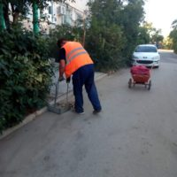 Уборка придомовой территории