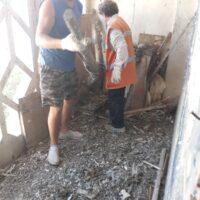 Уборка сушилок и лестничных площадок от крупногабаритного мусора
